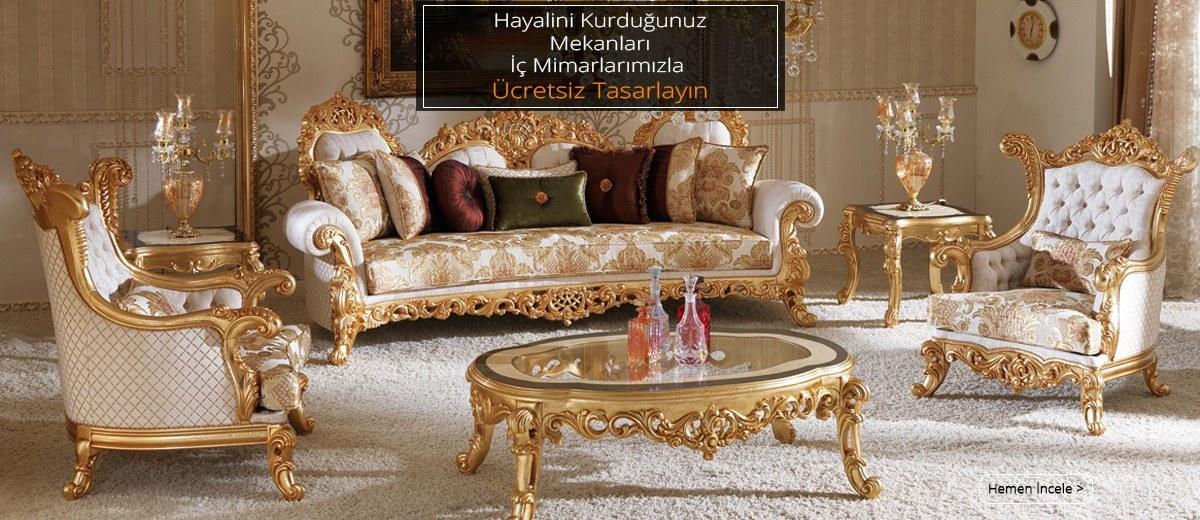 luxury mobilya iç mimar hizmeti