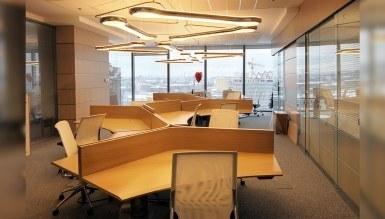 - Açı Dörtlü Ofis Aydınlatma