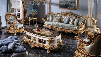 Lüks Altay Klasik Koltuk Takımı - Thumbnail