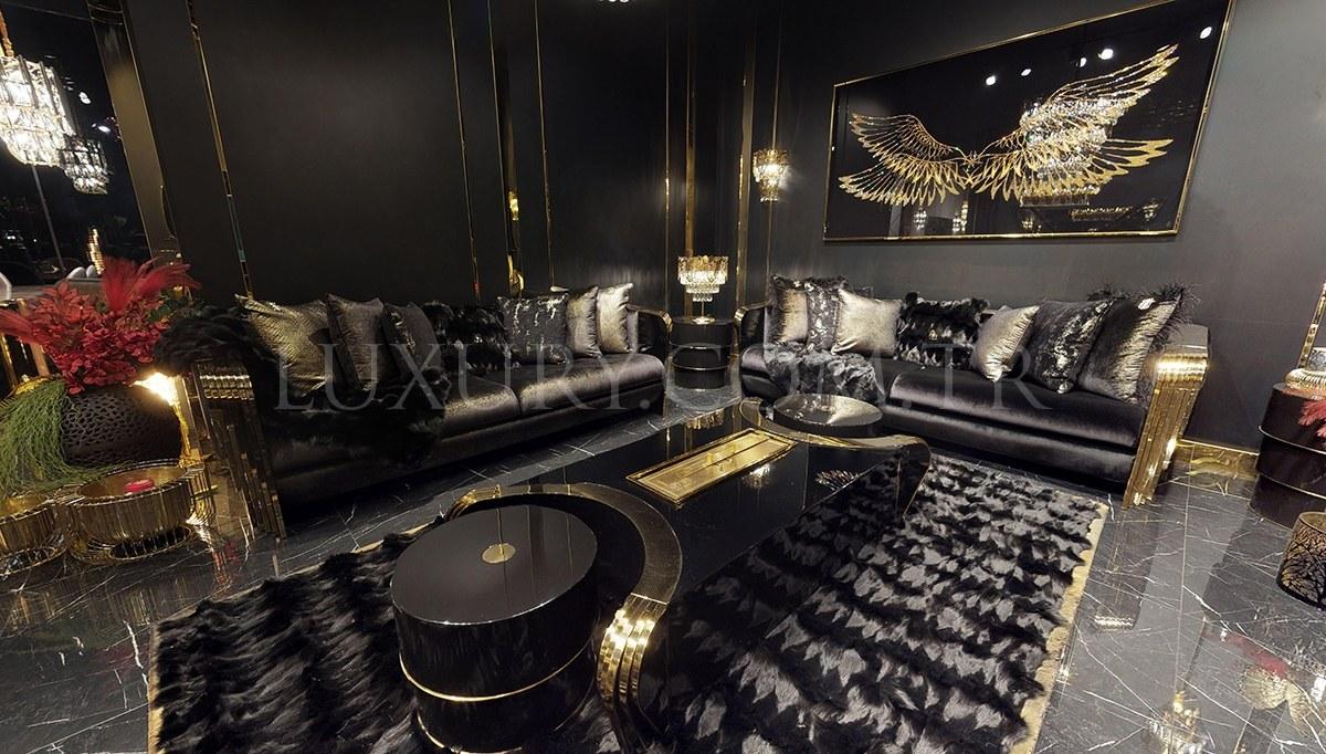 Angelas Luxury Metal Koltuk Takımı