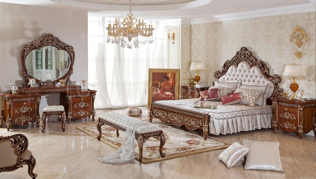 Armone Klasik Ceviz Yatak Odası
