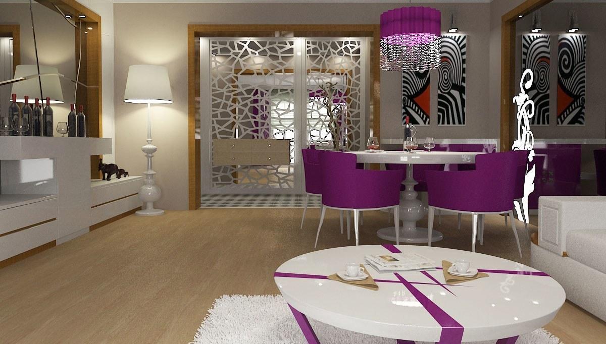 Arvelen Salon Dekorasyonu