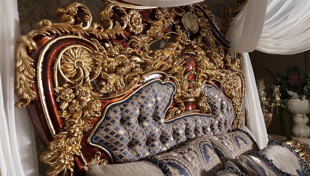 Aspendos Cibinlikli Klasik Yatak Odası