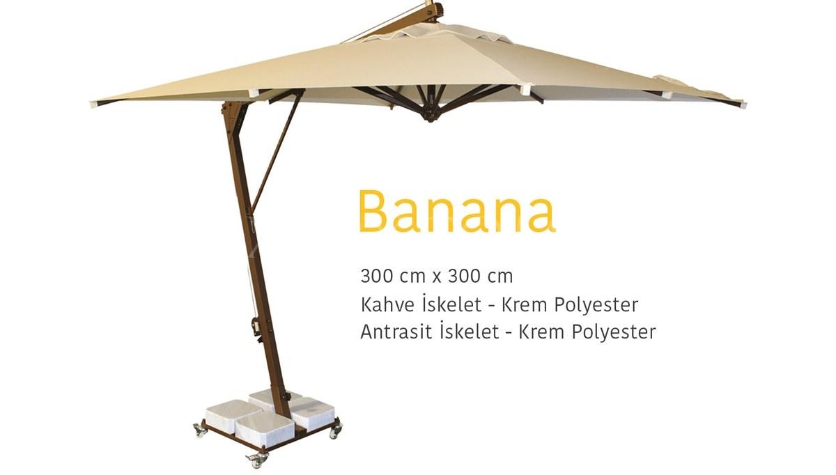 Banana Bahçe Şemsiyesi