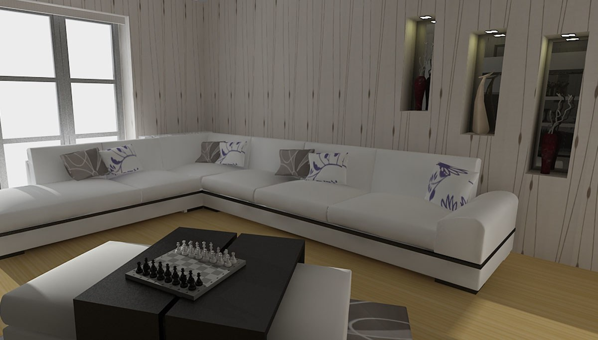 Basem Salon Dekorasyonu