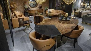 Bella Luxury Metal Yemek Odası - Thumbnail
