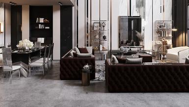 Berlin Luxury Koltuk Takımı - Thumbnail