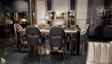 Bosphorus Luxury Metal Yemek Odası - Thumbnail
