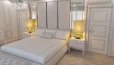 Cambridge Özel Tasarım Lüks Yatak Odası Takımı - Thumbnail