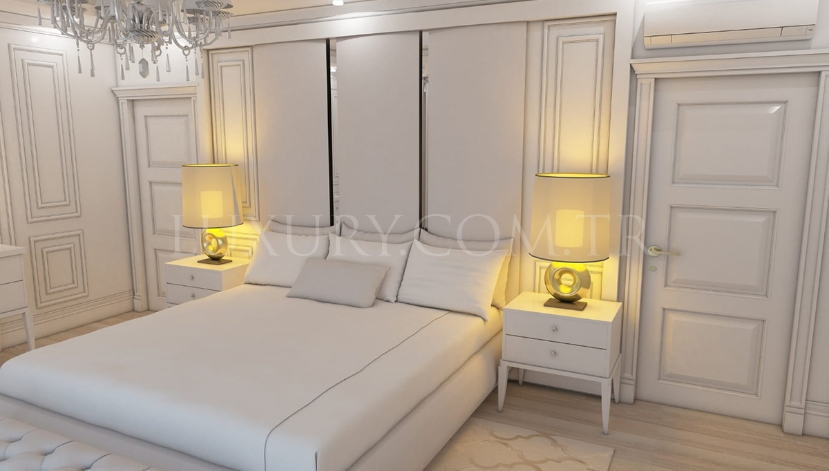 Cambridge Özel Tasarım Lüks Yatak Odası Takımı