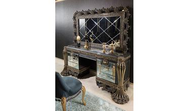 Cape Town Grey Klasik Yatak Odası - Thumbnail
