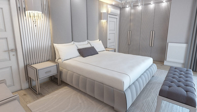 Cologne Lüks Yatak Odası Dekorasyonu - Thumbnail