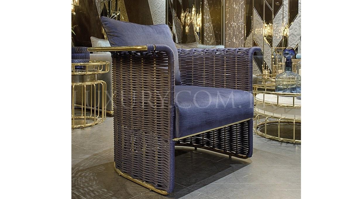 Conrad Luxury Metal Koltuk Takımı