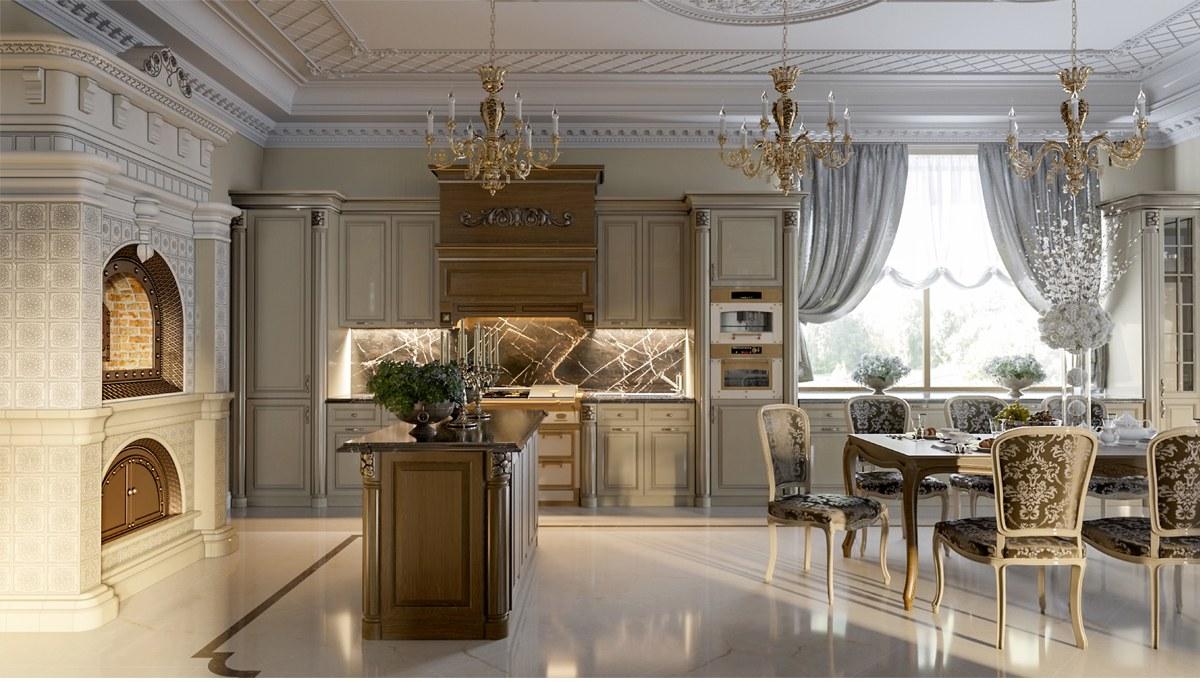 Deval Mutfak Dekorasyonu