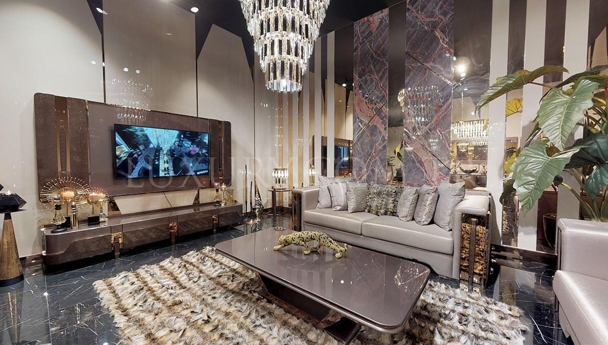 Diamond Luxury Metal TV Ünitesi