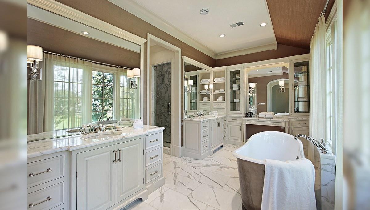 Duble Banyo Dolapları
