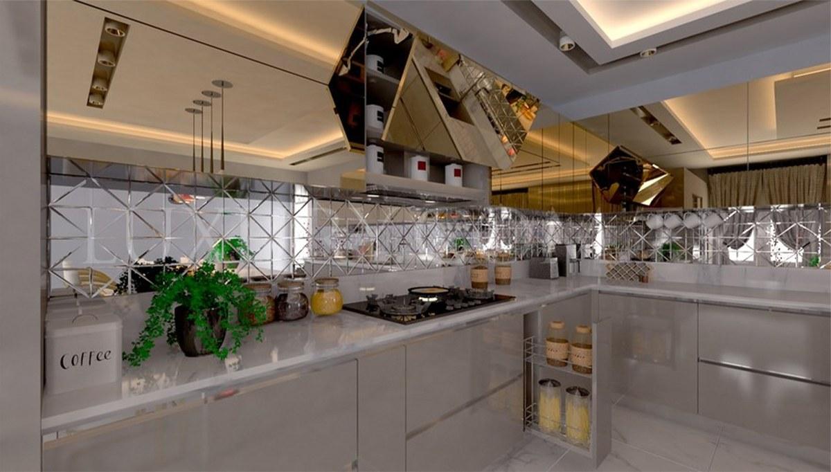 Eptun Mutfak Dekorasyonu