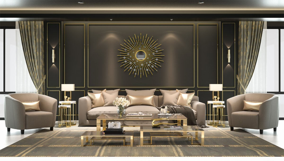 Ersan Salon Dekorasyon Villa Mobilya Tasarımları özel Mobilya