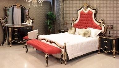 806 - Ertuğrul Kırmızı Siyah Yatak Odası