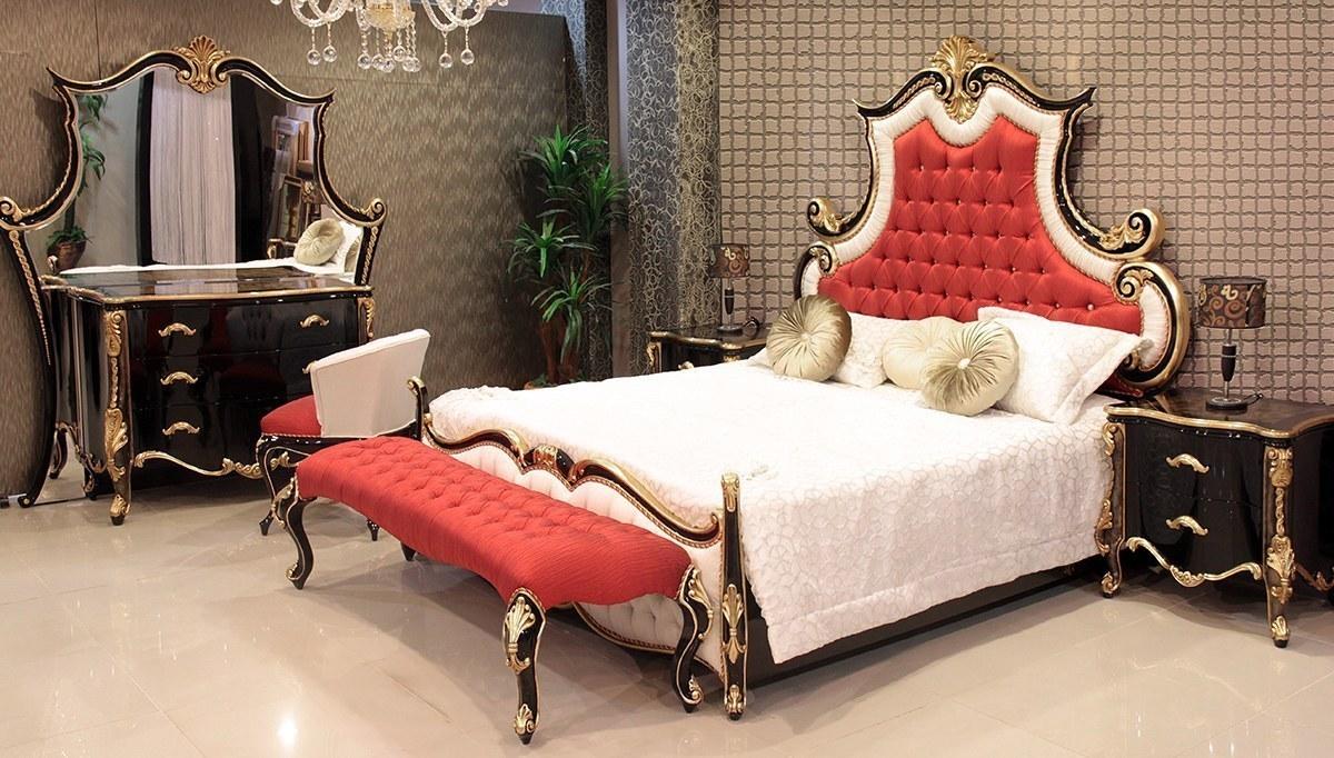 Ertuğrul Kırmızı Siyah Yatak Odası