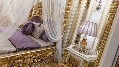Esvatini Cibinlikli Klasik Yatak Odası - Thumbnail