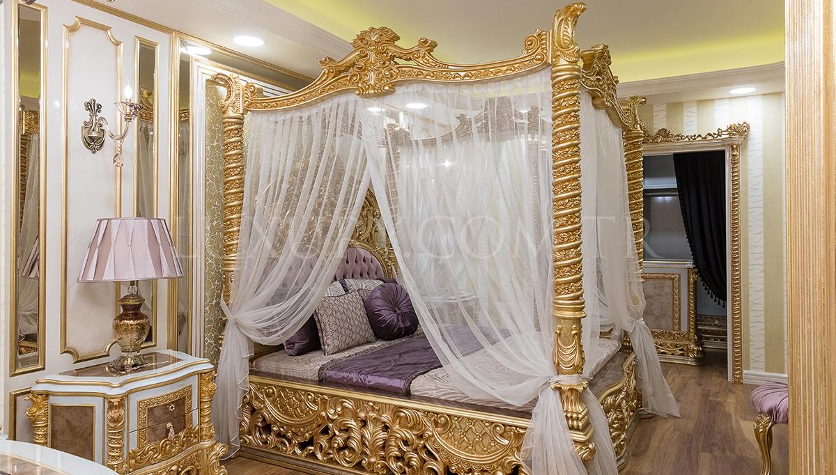 Esvatini Cibinlikli Klasik Yatak Odası