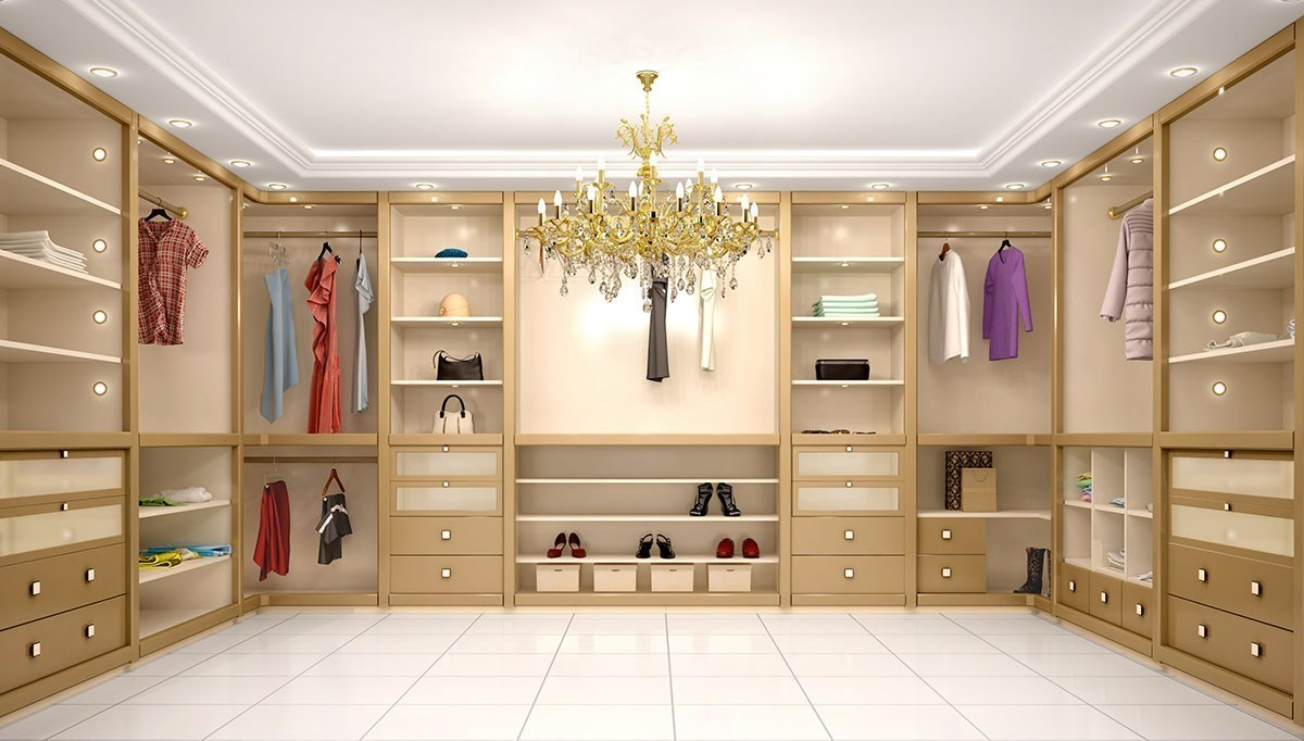 Evreka Lüx Giyinme Odası
