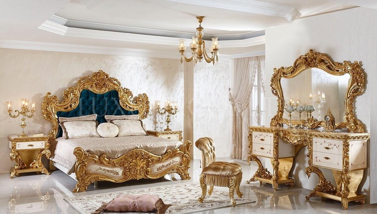 Fetih Paşa Lake Oymalı Klasik Yatak Odası