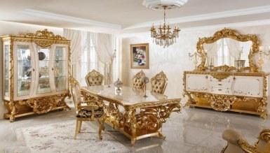 Fetih Paşa Lake Oymalı Klasik Yemek Odası