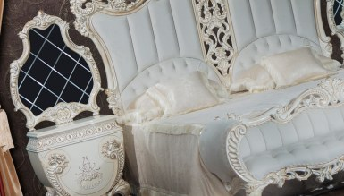 Fırat Beyaz Yatak Odası - Thumbnail