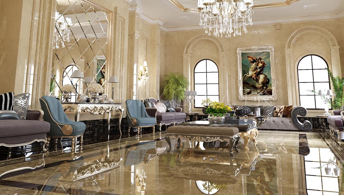 Floransa Salon Dekorasyonu
