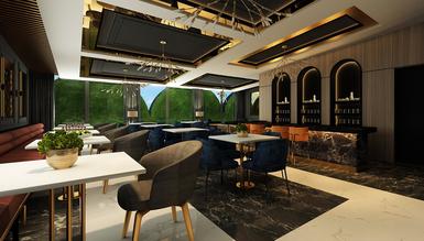 Gallina Cafe ve Restoran Dekorasyonu - Thumbnail