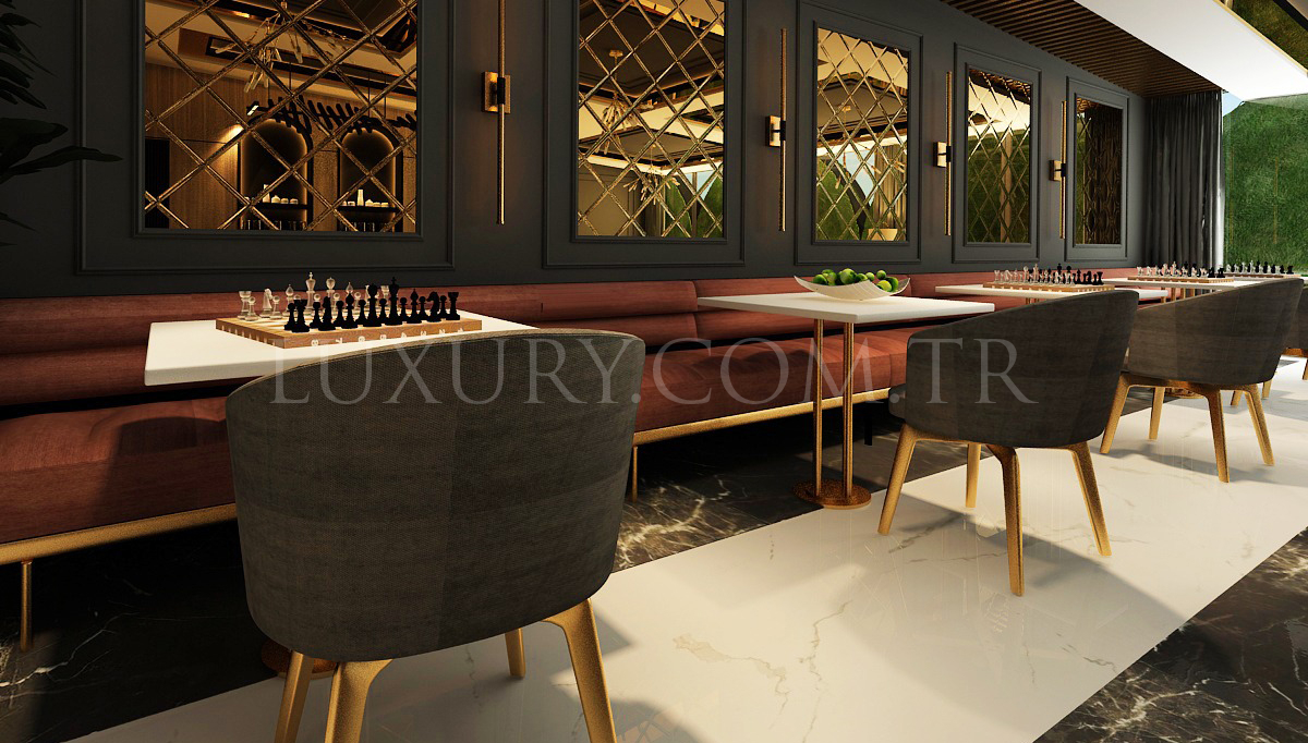 Gallina Cafe ve Restoran Dekorasyonu