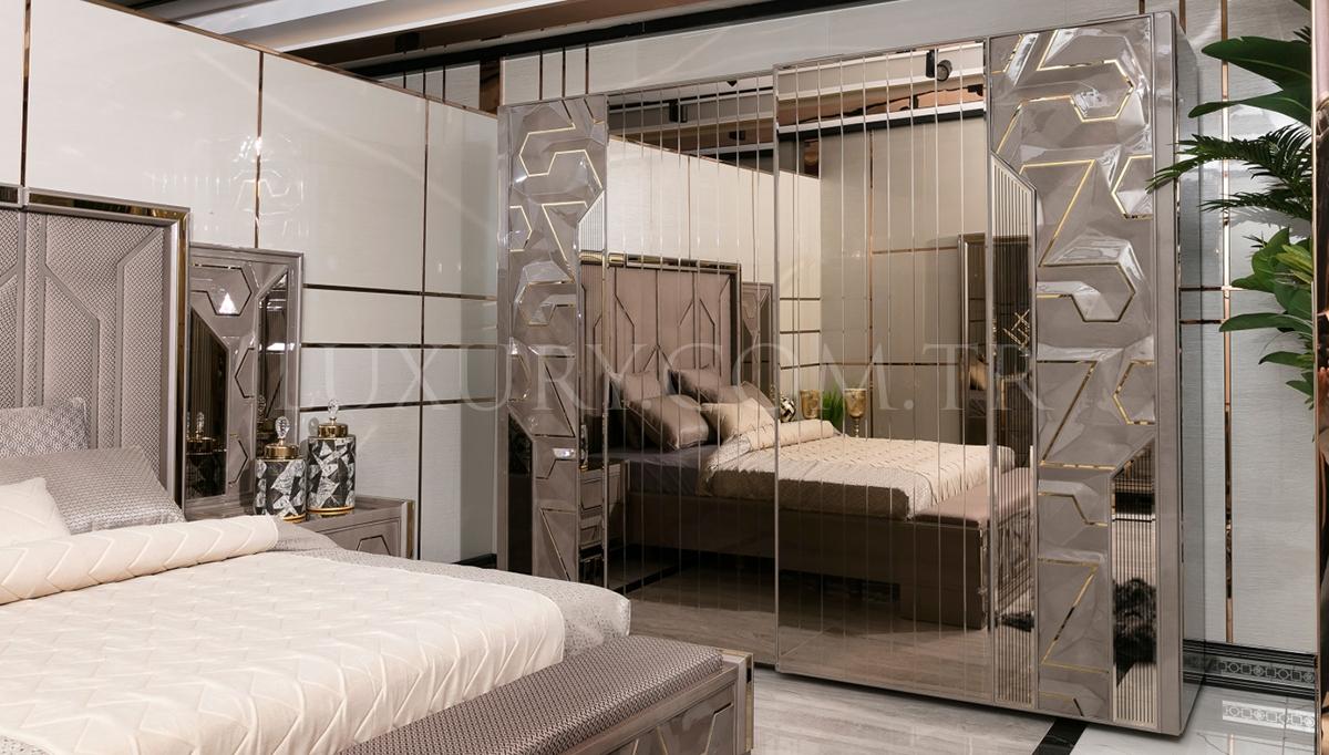 Gustora Metal Yatak Odası