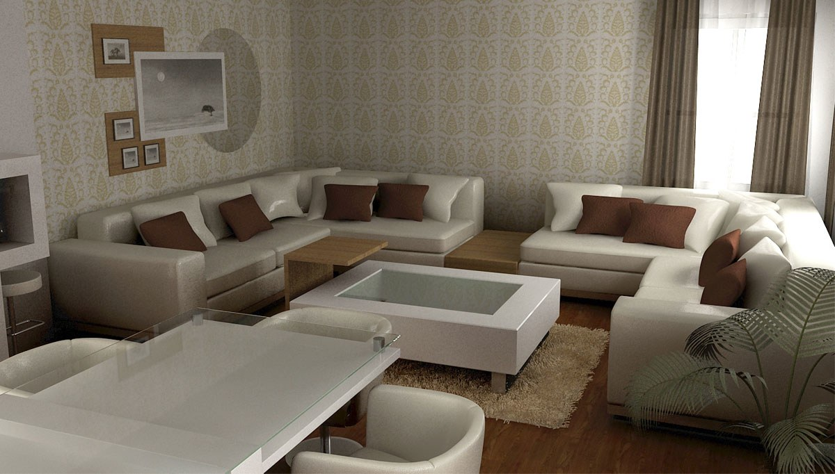 Guzman Salon Dekorasyonu