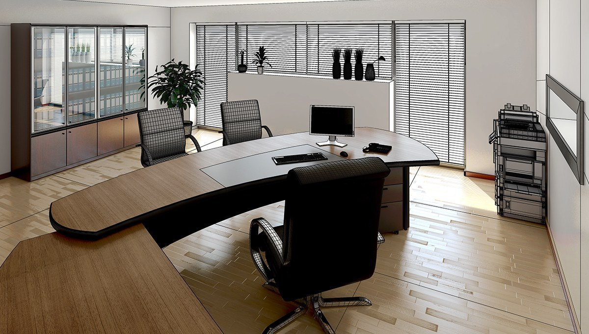 Halis CEO Desk Office