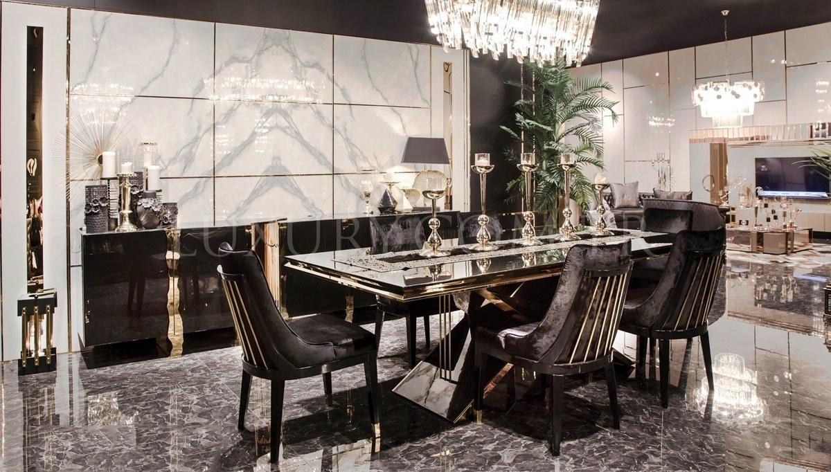 Henna Luxury Metal Yemek Odası