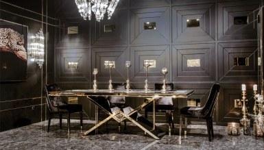 Henna Luxury Metal Yemek Odası - Thumbnail