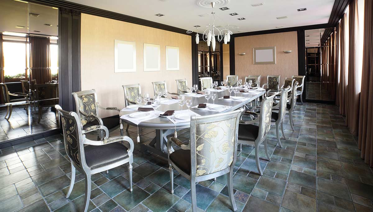 İymas Yemek Masası Dekorasyonu