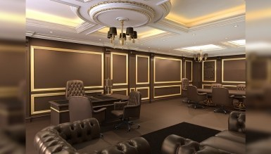 Kamada Ofis Dekorasyonu