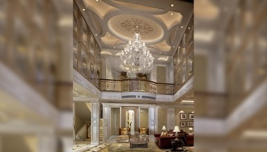 - Katre Villa Hol Dekorasyonu
