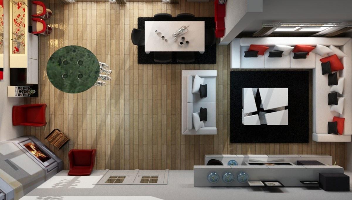 Keyan Salon Dekorasyonu