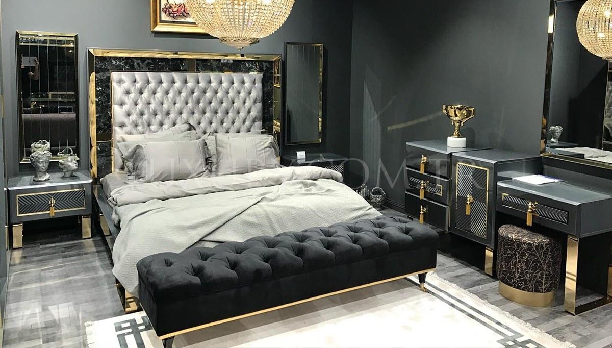 Kovera Metal Yatak Odası