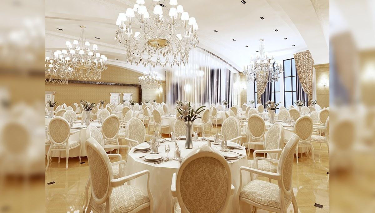 Kremlin Düğün Salonu Dekorasyonu