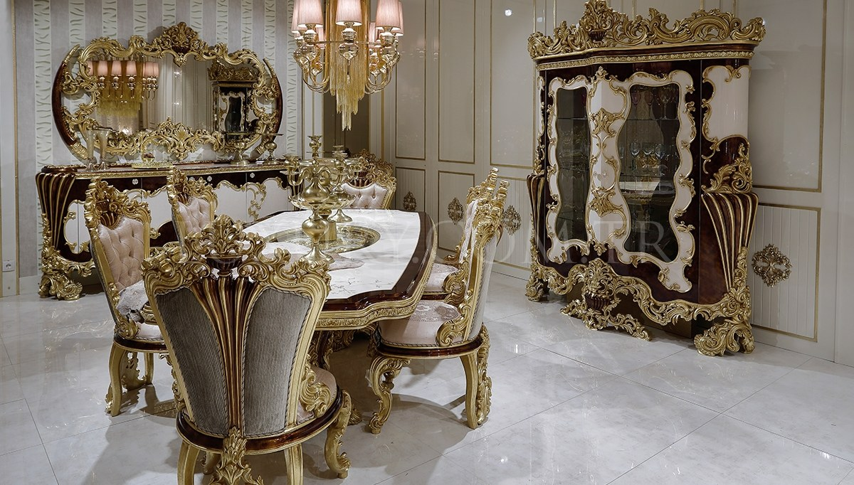 Laveras Klasik Yemek Odası