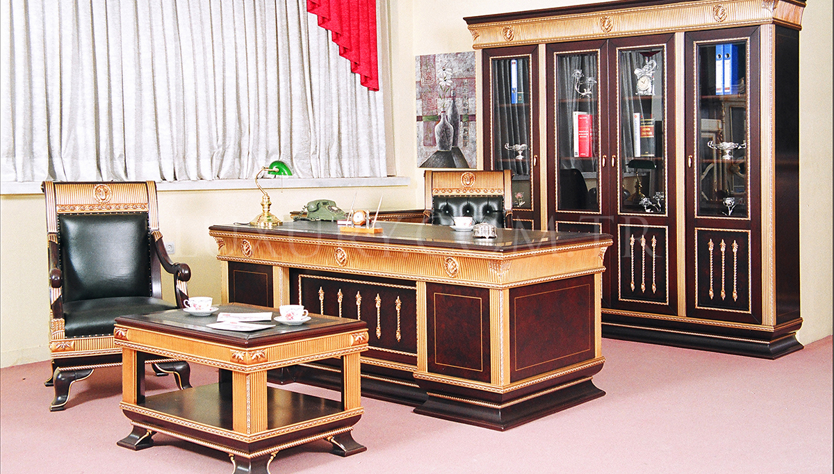 Lilas Klasik Bronz Makam Odası