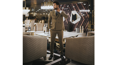 Luitton Luxury Koltuk Takımı - Thumbnail