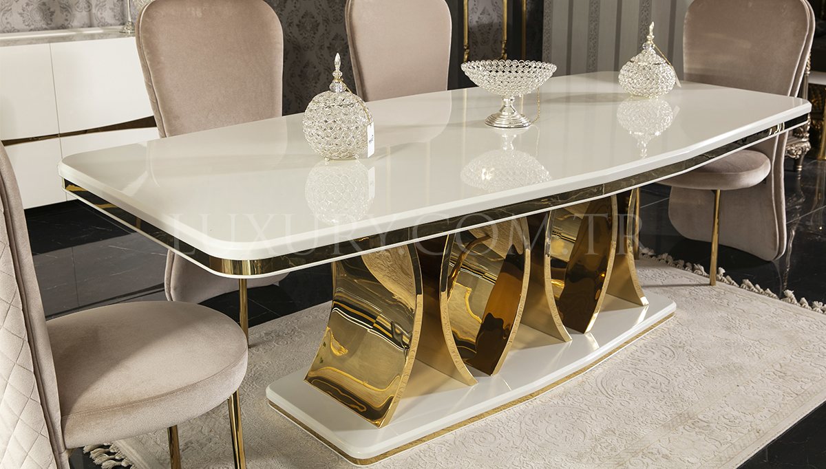 Luitton Luxury Yemek Odası