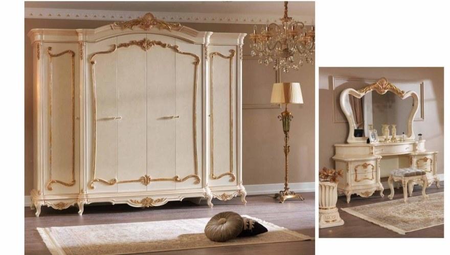 Lüks Abide Klasik Yatak Odası - Thumbnail