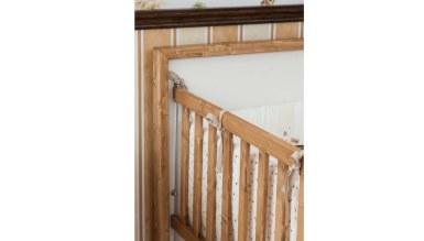 Lüks Afender Ahşap Bebek Odası - Thumbnail